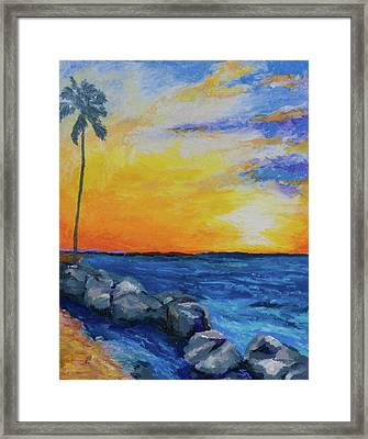 Island Time Framed Print by Stephen Anderson