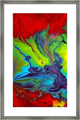Island Tropicale Diptych I Framed Print by Holly Anderson
