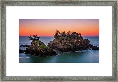 Framed Print featuring the photograph Islands In The Sea by Darren White