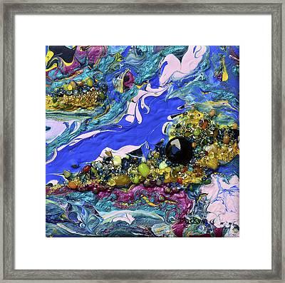 Islands In The Sea Framed Print