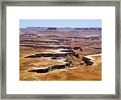 Islands In The Sky Framed Print by Phil Stone