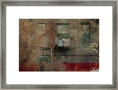 Islands Of Memory Framed Print by Inesa Kayuta