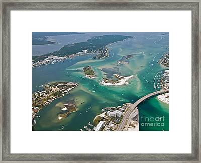 Islands Of Perdido - Not Labeled Framed Print
