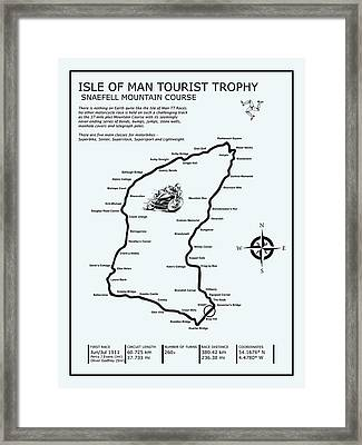 Isle Of Man Tt Mountain Course Framed Print