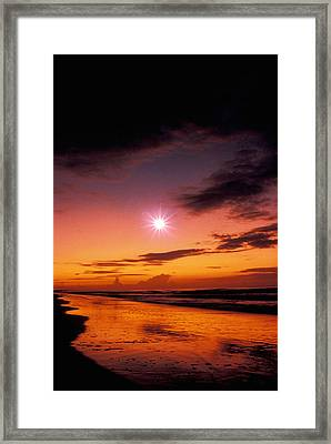 Isle Of Palms Framed Print by Gerard Fritz
