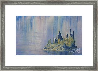Isle Of Reflection Framed Print