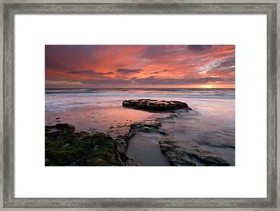 Isle Of The Setting Sun Framed Print