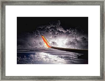 Islip To Tampa Framed Print