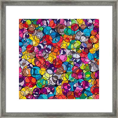 Isodiapheres Framed Print by George Sanen