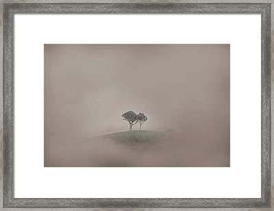 Isolation Framed Print by Az Jackson