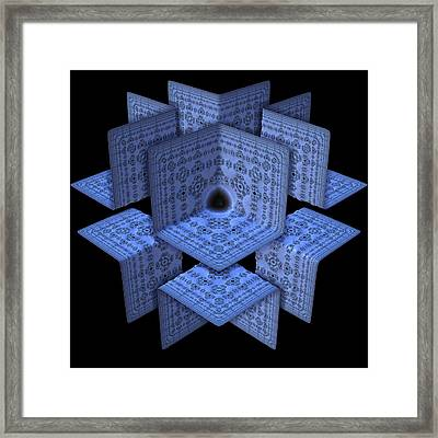 Framed Print featuring the digital art Isolation by Lyle Hatch