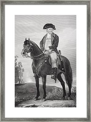 Israel Putnam 1718 - 1790. Army Officer Framed Print by Vintage Design Pics