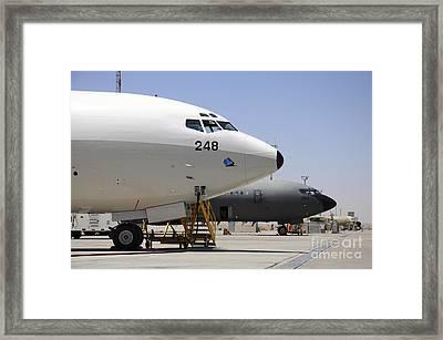 Israeli Air Force Boeing 707 Reem Framed Print by Riccardo Niccoli