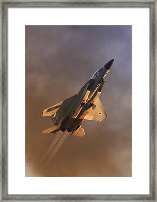 Israeli Air Force F-15i Framed Print