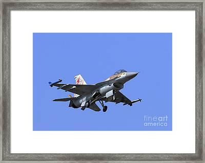 Israeli Air Force F-16c #307 Framed Print