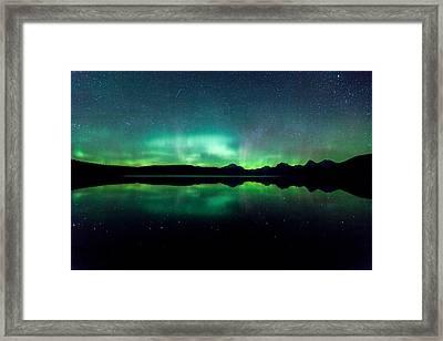 Iss Aurora Framed Print by Aaron Aldrich