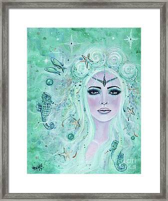 Issiana Mermaid Framed Print