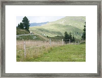 Isskogel Mountain Peak  Framed Print