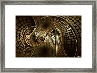 Issuance Of The Metropole Framed Print by Casey Kotas