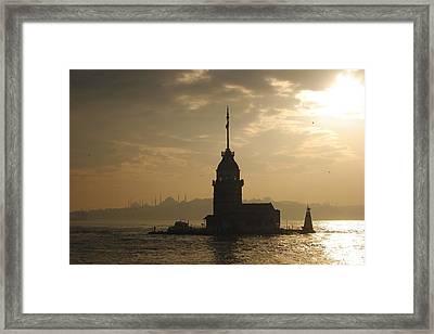 Istanbul Framed Print by Alizada Studios