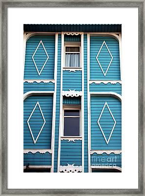 Istanbul Blue Framed Print by John Rizzuto