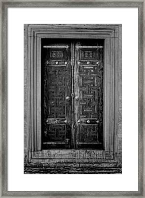 Istanbul Door Framed Print by Stephen Stookey