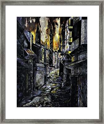 Istanbul Impressions. Lost In The City. Framed Print