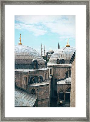 Istanbul Mosque Framed Print
