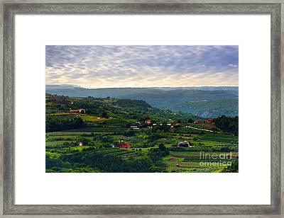 Istria Framed Print