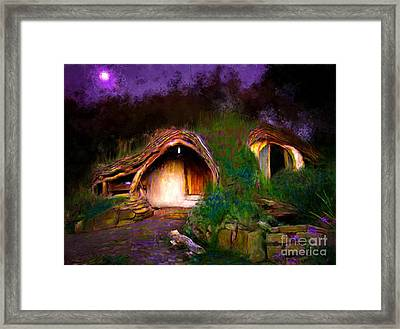 It Aint Easy Being Green Framed Print