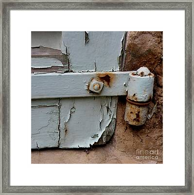 It All Hinges On Framed Print by Lainie Wrightson