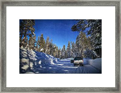 It Came Down Framed Print