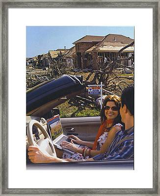 It Can Only Appreciate In Value Framed Print by Kevin Porter