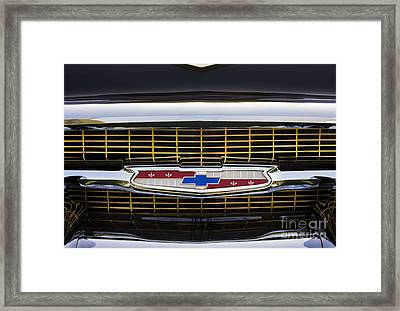 It Comes In Black Gold And Chrome Framed Print by Tim Gainey