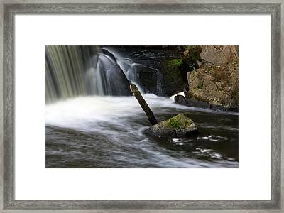 It Looks Like A Lever... Framed Print by Jeff Severson