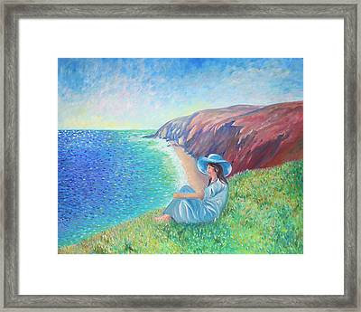 Framed Print featuring the painting It Could Be Me by Elizabeth Lock
