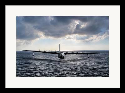 Flying Boat Framed Prints