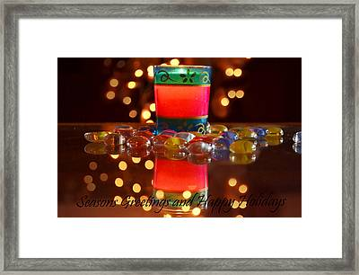 It Feels Like Christmas Framed Print by Rima Biswas