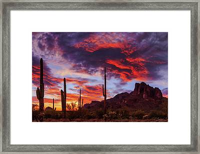 Framed Print featuring the photograph It Is Accomplished by Rick Furmanek