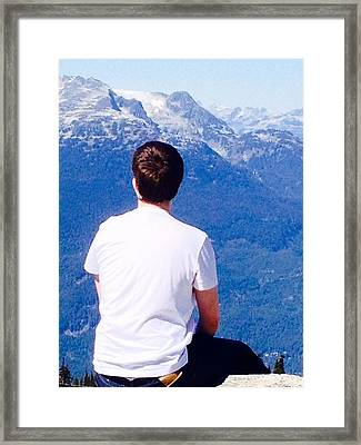 It Is Always There, Waiting For You. Framed Print by Larissa Pirogovski