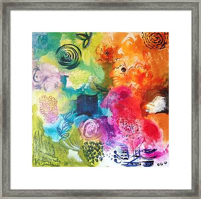 It  Is Done I'm Alive Framed Print by Christina Pateros