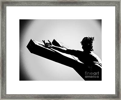 It Is Finished Framed Print by Robin Sloan