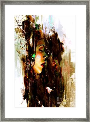 It Is Just A Dream Framed Print
