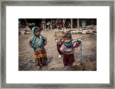 It Is My Turn. Framed Print by Mohammadreza Momeni