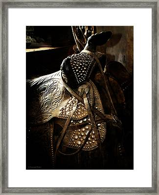It Is The Way You Ride Framed Print