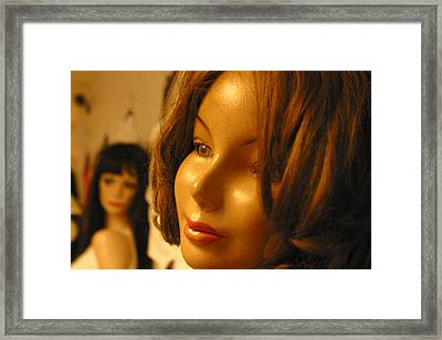 It Is Too Late For Me To Leave Framed Print by Jez C Self