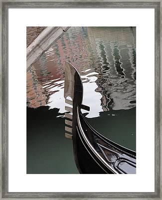 Framed Print featuring the pyrography It Is Venice by Yury Bashkin