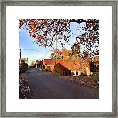 It Looks Like We've Found Our New Home Framed Print