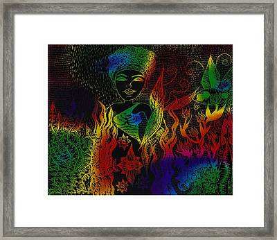 It Must Be Reign Framed Print