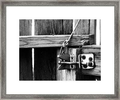 It Never Did Work Framed Print by Jeff DOttavio